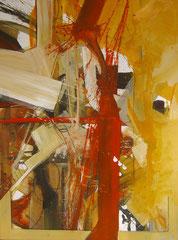 """""""wo ein Wille da ein Weg""""  80 x 60 cm, 2007"""
