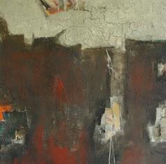 """""""Sinn und Eigensinn des Materials""""  80 x 80 cm, 2010"""