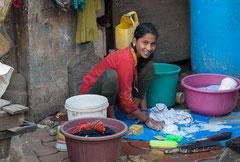 Waschtag, Mumbai, India, Streetlife