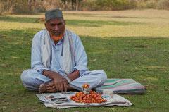 indien, India, Aurangabad, Fruchtverkäufer