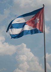 Fahne Cubas