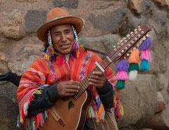 Musikant, Cusco, Peru, streetlife