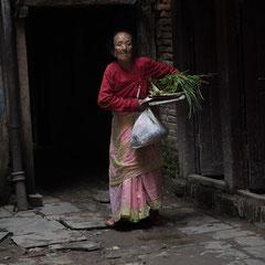 Alte Dame, Altstadt, Kathmandu