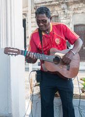 Musikant, Gitarre, Kuba, Havanna