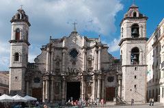 Plaza de la Catedral, Kathedrale San Cristóbal, Kuba, Havanna