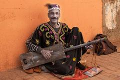 Der Musiker in der Medina