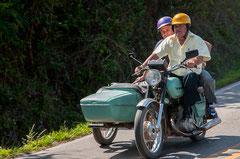 Motorrad, Oldtimer, Viñales