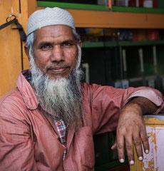 Freundlicher Moslem, Sri Lanka, Matara, Geschäftsmann