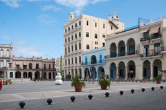 Habana Vieja, Ciudad Vieja, Weltkulturerbe, Cuba, Plaza Vieja (Alter Platz)