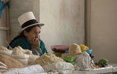 Marktfrau, Cusco, Peru