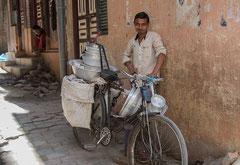 Milchverkäufer, Kathmandu