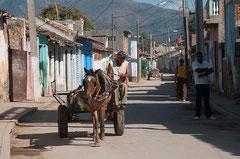 Pferdewagen, Trinidad, Cuba