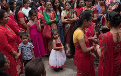 Das kleine Mädchen, Kathmandu