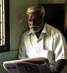 Im Zug, Sri Lanka, | Alutgama