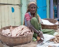 Indien, Badami auf dem Markt