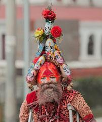 Sadhus, Kathmandu, Pashupatinath