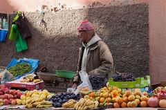 Obstverkäufer, Medina