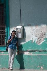 Telefonieren auf Kuba, Havanna