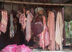 Feischverkauf in Negombo