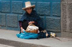 Streetlife, Wollspinnerin