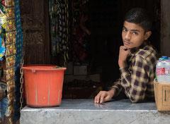 Am Kiosk, Kathmandu, Nepal