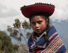 Anden, Mädchen, Peru