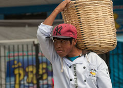Cajamarca, Bäckerjunge, Peru
