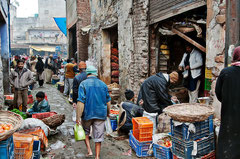 Indien, India Delhi, Altstadt