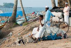 Alutgama, die Fischer kommen zurück, Sri Lanka