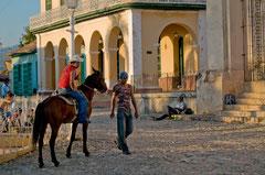 Plaza Mayor, Trinidad, Kuba