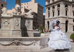 Hochzeit, Braut, Havanna, Cuba,