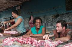 Fleischmarkt, Havanna Cuba, Kuba