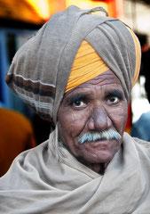 Mann mit Turban, Rajasthan