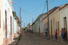 Streetlife  in Trinidad, Kuba