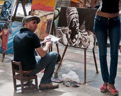 Der Maler, Kuba, Havanna