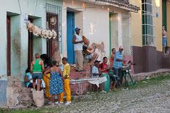 Strassenmusiker, Cuba, Trinidad