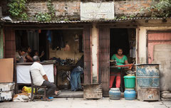 Streetlife in Kathmandu