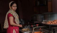 Strassenrestaurant, Kathmandu, Altstadt