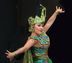 Pfauentanz, Peacock dance,  Indonesien, Indonesia, Tänzer, dancer