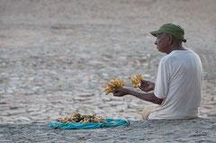 Cuba, Kuba, Trinidad, Bananenverkäufer, Streetlife