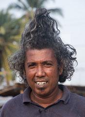 Sri Lanka, mein Fahrer,  Aluthgama