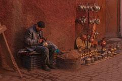 Der Handwerker in den Souks