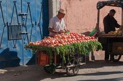 Orangenverkauf in der Altstadt, Marrakesch