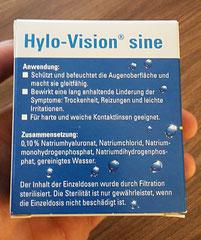 Hylo Vision Sine Beschreibung
