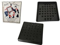 Frolix Solitaire in OVP, Swiss Made - Seitenlänge Spiel 14.3 cm