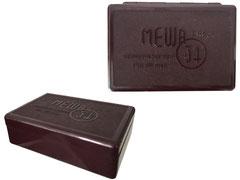 """MEWA Reinigungsbesteck  für Büchsen""""34"""", DRGM, Hersteller: Me ( chanische ) W ( eberei ) A ( ltstadt ) GmbH Ostritz, Sachsen - Länge 11 cm, Breite 7.5 cm Höhe 3.5 cm"""
