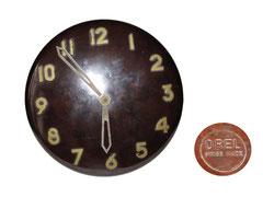 Wanduhr Orel, Locarno, Schweiz, ca. 1955 - Durchmesser 22 cm, Höhe 5.5 cm