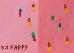 9 x Happy