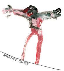 Balance halten