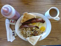 Frühstück im Prospektor Inn